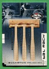 2002 Fleer Box Score BARRY BONDS/ADAM DUNN/CHIPPER JONES BAT 67/300