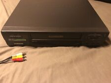 Samsung vhs vcr vr8606 Video Recorder HIFI STEREO High Quality 4 Head - Tested