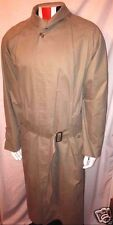 Vintage 100% Authentic BURBERRY London Men's Cotton Rain Trench Coat