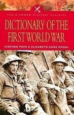 Dictionary of the First World War (Pen and Sword Military Classics)-ExLibrary
