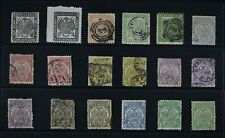 TRANSVAAL, a collection of 104 stamps for sorting, MM & used condition.