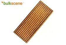 More details for 40mm rusty corrugated metal model panels for oo/ho gauge buildings - bulk packs