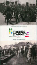 Fréres d'armes 4 DVD livret troupes coloniales dans 2 Guerres film indigènes