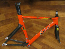 VINTAGE KESTREL TALON FULL CARBON PRO AERO ROAD BIKE FRAME SET 55CM - RED