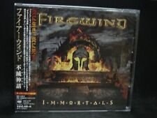 FIREWIND Immortals + 3 JAPAN CD Gus G. Ozzy Mystic Prophecy Outloud Dream Evil