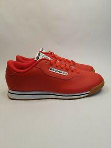 WOMENS REEBOK CLASSIC PRINCESS DV5097 Techy Red/White/Gum Size 9.5