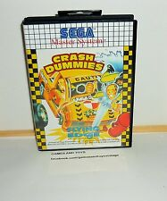 JEU SEGA MASTER SYSTEM COMPLET CRASH DUMMIES FLYING EDGE