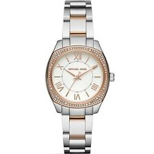 Michael Kors MK6315 Mini Bryn Silver Rose Gold Two-Tone Ladies Watch