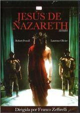 -JESUS DE NAZARETH (JESUS OF NAZARETH) FRANCO ZEFFIRELLI QUALITY 100% 2 DVD