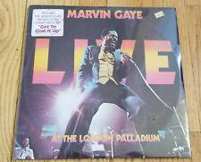 MARVIN GAYE DOUBLE LP LIVE AT THE LONDON PALLADIUM 1977 TAMLA MOTOWN SEALED 30g