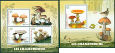 Mushrooms Pilze Champignons Plants Flora Madagascar MNH stamp set