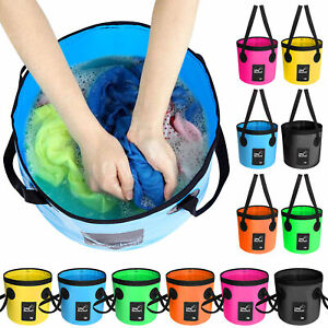 Foldable Water Bucket, Folding Camping Bucket for Outdoor, 12L/20L