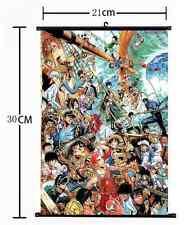 Anime All star Naruto/One Piece/Gintama/Jojo/Hunter:X home decor Wall Scroll 593