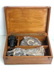 OLD NOS NAUTICAL ANTIQUES CASSENS & PLATH SHIP TAFFRAIL LOG WITH BOXED