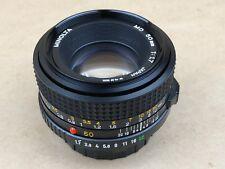 Minolta 50mm f/1.7 MD Manual Focus Lens - Nice