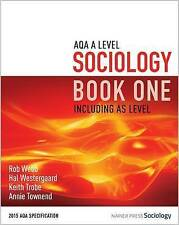 AQA A Level Sociology Book One Including AS Level: Book one by Hal Westergaard,