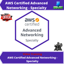 AWS Certified Advanced Networking - Specialty 2020 Video Training Course