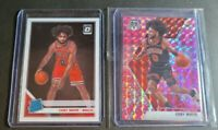 Coby White 2019-20 Panini Mosaic Pink Camo Prizm RC & Optic Base Rookie Bulls 📈