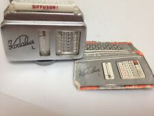 Vintage Kodalux Light Exposure Meter with case and pamphlet