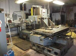 Lucas 41B-72 Horizontal Boring Mill