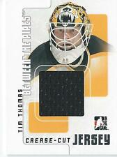 2007-08 ITG Between the Pipes TIM THOMAS #CCJ-39 Boston Bruins Jersey
