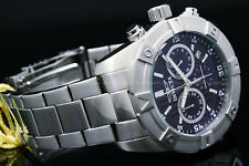 NEW Invicta Men's 45MM SPECIALTY  Blue Dial Silver Tone S.S Bracelet Watch