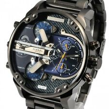 5fa0f6c2d9c6 Diesel Para Hombre DZ7331 Mr Daddy 2.0 Gunmetal Tonos de Acero Inoxidable  Reloj