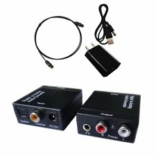 Easyday Digital to Analog Audio Converter with Digital Optical Toslink and