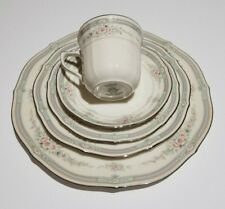 Excellent Condition Noritake Rothschild 7293 5 Pc Piece Place Setting