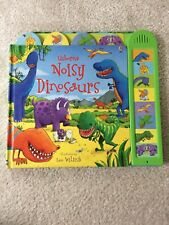 USBOURNE NOISY DINOSAURS BOYS SOUNDS BOOK