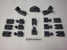 Lego Technic 2X2 TOW BALL BRICKS LOT Dk Bluish Gray TOWBALL 10 Pairs (20 Pieces)