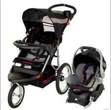 Lightweight Baby Stroller Jogging Travel System Car Seat Combo Safe Strollers