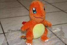 "Pokemon Charmander 10.5"" Plush by 3rd Round Game Freak Nintendo 1997 Used w/ tag"