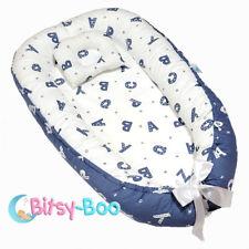 Bitsy-Boo Newborn Portable Bed Nest Crib Lounger Baby Sleeper Bassinet Alphabet