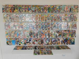 Huge Lot 140+ Comics ALL JUSTICE LEAGUE OF AMERICA!! Avg Fine Condition!!