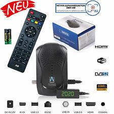 Mini HD Sat Receiver PVR Ready mit Aufnahmefunktion Anadol 777 DVB-S2 HDMI