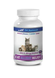 cat allergy aid - CAT ALLERGY RELIEF COMPLEX - Quercetin for cats - 1B