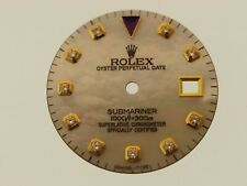 Rolex Submariner Mother of Pearl dial, added diamonds 16618/3, 16803/8