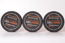 3x Morfose Extra Aqua Gelwax Melonenduft 175 ml Haarwachs Hair Wax Extra Shine