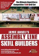 "Assembly Line Skill Builders ""Team Drills"" Jamie Angeli Youth Basketball DVDs"