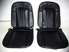 71 72 Chevelle El Camino Bucket Seat Covers black