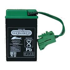 6v Green Battery Authentic Peg Perego IAKB0509 for Ride On Toys 6 Volt