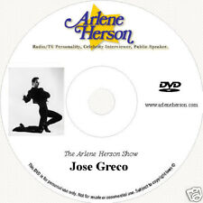 Jose Greco  TV Interview  (30 Minutes)  DVD