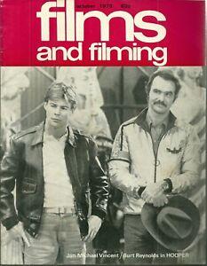 RARE - FILMS AND FILMING Magazine - October 1978 - Brigitte Bardot - Bee Gees