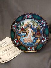 Russian Seasons Lithuania Springtime Splenor Collector Plate Coa