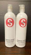 TIGI S Factor Diamond Dreams Shampoo and Conditioner Set 25.36 oz./750ml Bottles