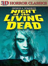 3d Night Of Living Dead (single-disc 2-d/3-d Combo) - Dvd - Black & White Mint