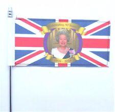 Queen Elizabeth II's 90th Birthday Portrait Design Ultimate Table Flag