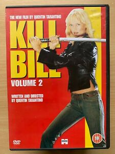 Kill Bill Vol.2 DVD 2004 Tarantino Martial Arts Action Kung Fu Classic Movie