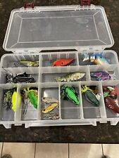 New listing tackle box full of lures Stowaway With Lures.